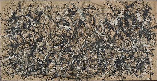 Jackson Pollock - Autumn Rhythm No 30
