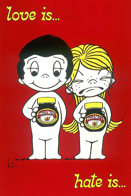 Marmite - love is hate is