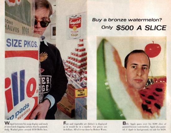 Warhol American Supermarket