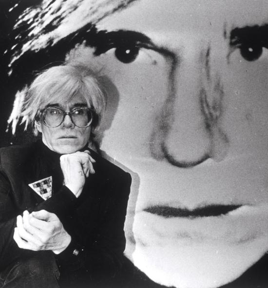 Warhol infront of Warhol