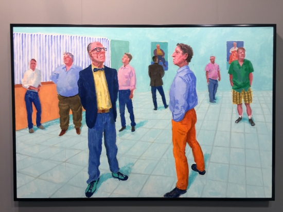 David Hockney - The Group VII
