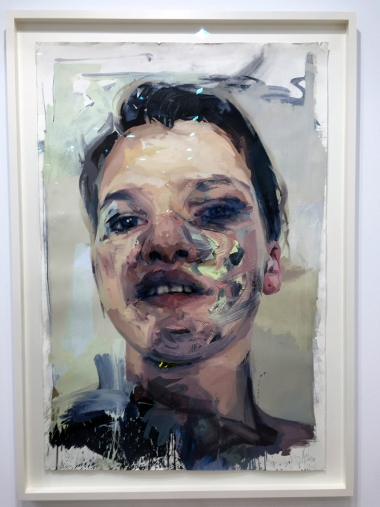 Jenny Saville - Study for Shadow Head