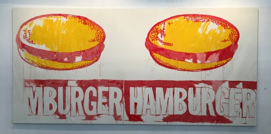 Andy Warhol - Double Hamburger