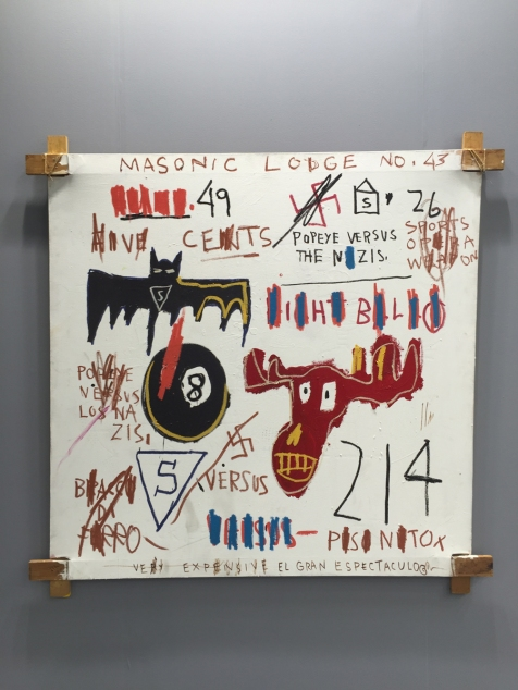 Jean-Michel Basquiat - Television and Cruelty to Animals