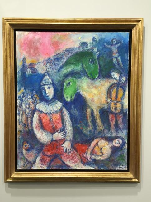 Marc Chagall - Deux ânes verts